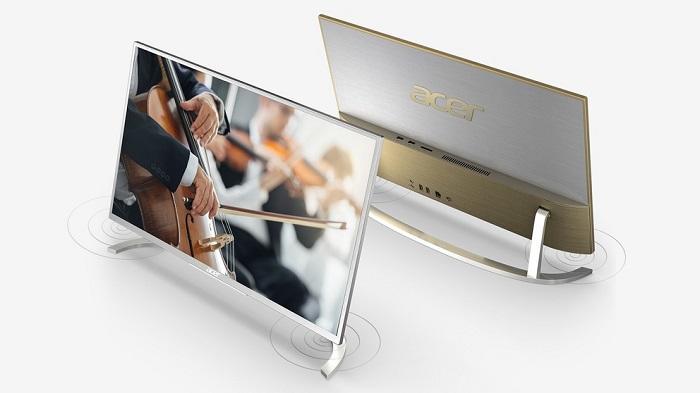 Acer Aspire C22 ва C24 моноблоклари қалинлиги 8 миллиметрни ташкил этади