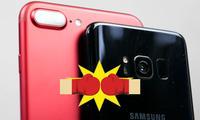 Galaxy S8 камераси iPhone 7 Plus'ни дуэлга чорлади