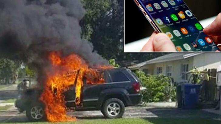 Samsung аккумуляторлари заводида ёнғин содир бўлди