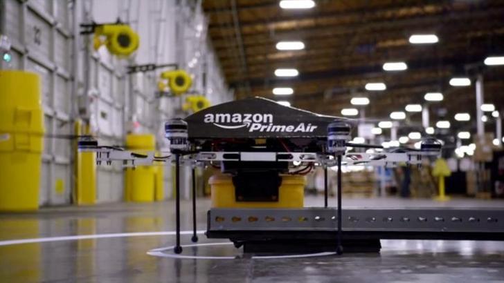 Amazon ўз маҳсулотлари дронларда етказиб бермоқчи