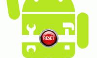 Android созламаларини дастлабки ҳолатига қайтариш