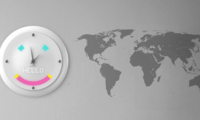 Glance Clock – devorga osiladigan aqlli soat (Video)