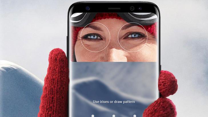 Galaxy S8 кўз катарактасига сабаб бўлиши мумкин