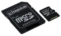 Kingston 256 ГБли microSDXC Class 10 хотира картасини чиқарди