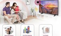 LG чивинларни қочирадиган телевизор ишлаб чиқарди