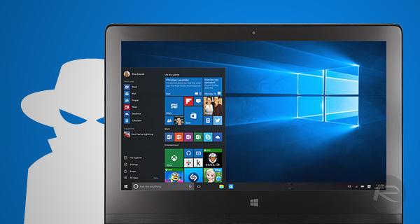 Windows 10: сизни кузатишларига йўл қўйманг!