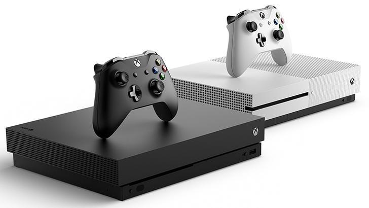 Microsoft энг кучли Xbox One X ўйин консолини тақдим қилди