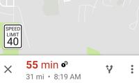 Google Maps йўллардаги тезлик лимитини кўрсатади