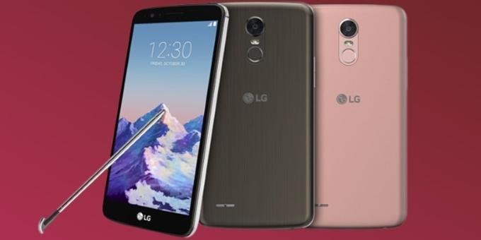 LG Stylus 3 фаблетига тегишли техник параметрлар ошкор қилинди