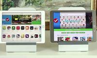 Samsung ва Apple планшетларининг «Малика» савдо марказидаги нархлари (2017 йил 29 март)