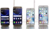 «Малика» савдо марказида Apple ва Samsung смартфонлари нархлари (2017 йил 14 февраль)