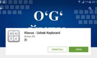 Klavus – ўзбекча клавиатура
