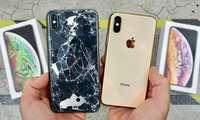 ЭКСКЛЮЗИВ ВИДЕО: iPhone XS ва iPhone XS Max'нинг илк дроп-тести!