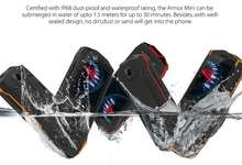 Ulefone Armor Mini – қуввати 21 кунга етувчи, «ўлдириб бўлмас» арзон телефон
