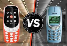 Nokia 3310 vs Nokia 3310 (2017): гидравлик прессга ким бардошли? (видео)