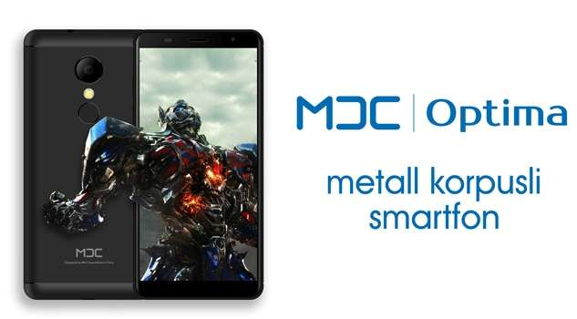 MDC Optima – металл корпусли 4G-смартфон