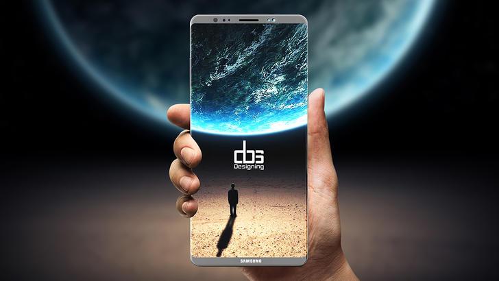 Эван Блэсс Samsung Galaxy Note 8'нинг расмий суратини эълон қилди