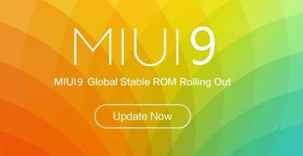MIUI 9'гача расман янгиланадиган Xiaomi смартфонлари рўйхати