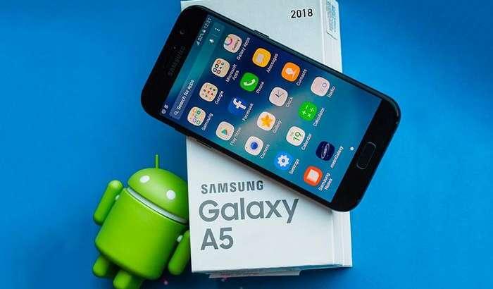Galaxy A5 (2018) флагман хусусиятларига эга бўлади