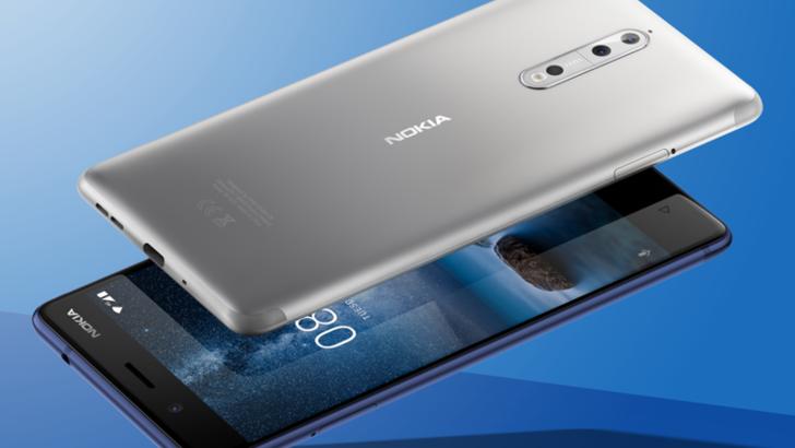 Расмий: Nokia 8 флагмани сотувга чиқарилди