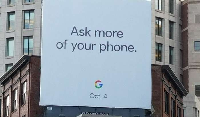 РАСМАН: Pixel 2 смартфони тақдимотини Google ғайриоддий усулларда маълум қилди (+видео)