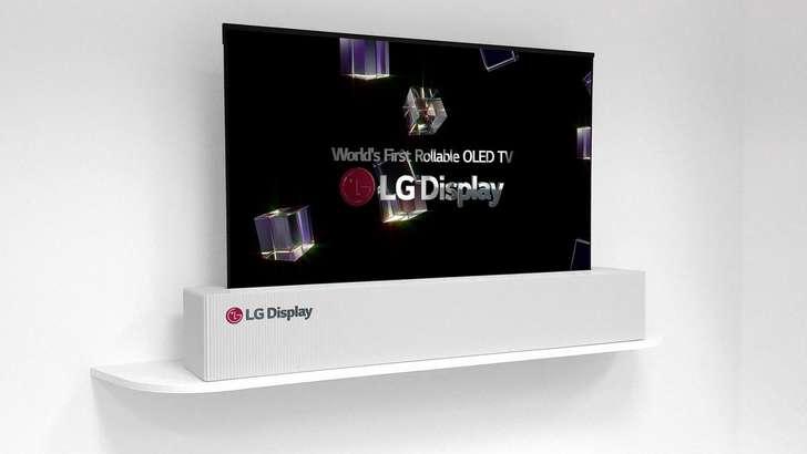 CES 2018: LG янги телевизорини рулонда олиб келди