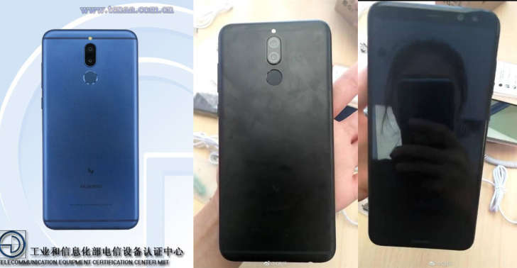iPhone X рақиби – Huawei'нинг «тўрт кўзли» смартфони чиқади! (+фото)