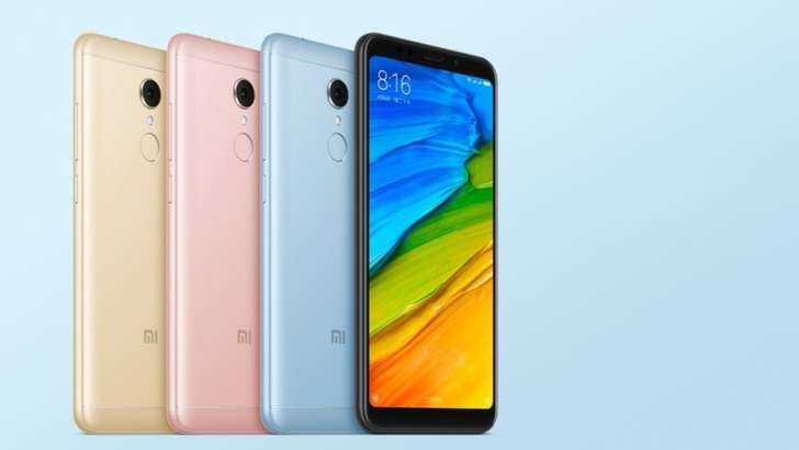 Xiaomi Redmi 5 Plus: 5,