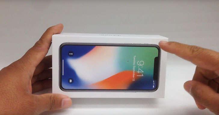 iPhone X'нинг илк эгалари флагманни қадоқдан олиб, фойдаланиб кўришди (Видео)
