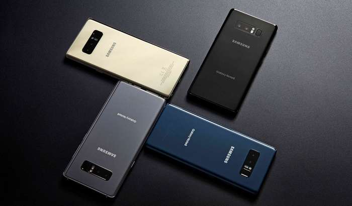 РАСМАН: Galaxy Note 8'нинг глобал савдоси бошланди
