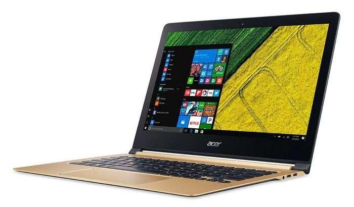 Acer смартфон қалинлигидаги қудратли ультрабукини тақдим этди