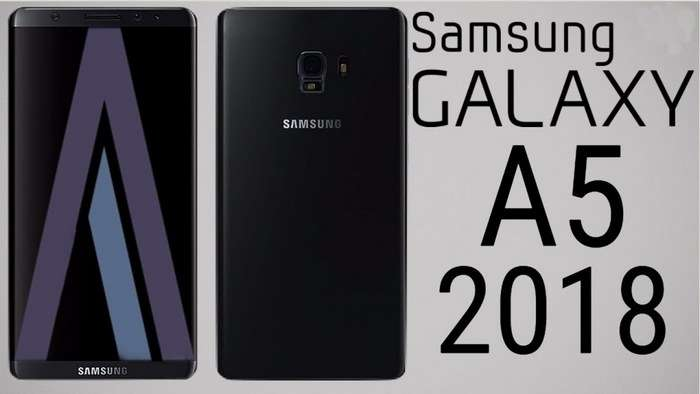 Galaxy A5 (2018): ўрта нархли «ромсиз»нинг илк суратлари чиқди