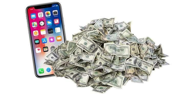 iPhone X таннархи ҳисобланди: қийматнинг 74 фоизи Apple'нинг фойдаси экан!