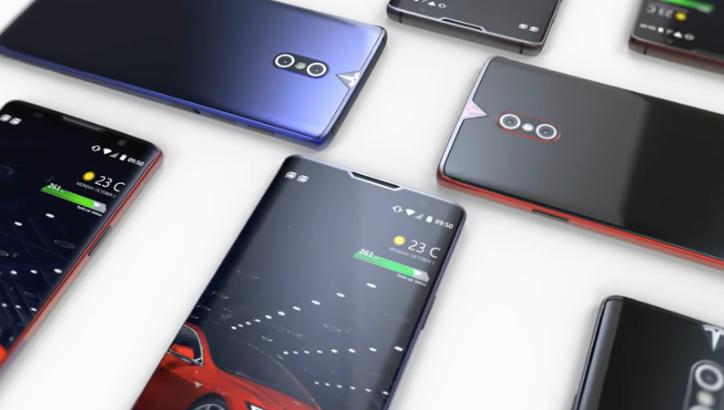 АвтоМобил: Tesla смартфонининг концепцияси тарқалди