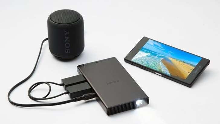 Sony смартфон ҳажмидаги проектор тақдим қилди