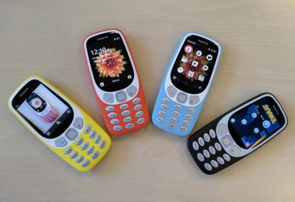 Янги талқиндаги Nokia 3310 тақдим қилинди