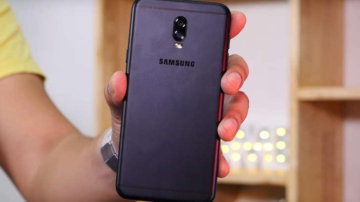 Galaxy J7+: бренднинг қўш сенсорли арзон смартфони олган илк суратлар
