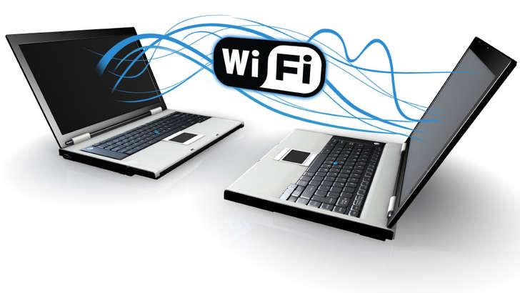 Ноутбукларда Wi-Fi нуқта ҳосил қилган ҳолда ўзаро маълумот алмашиш