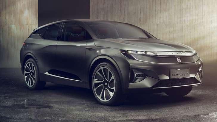 CES 2018: Byton — Tesla Model X
