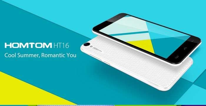 HomTom HT16 – атиги 47 долларлик қулай смартфонга буюртма беринг!