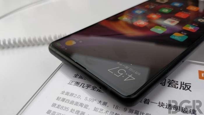 Xiaomi Mi Mix 2s'нинг янги сурати чиқди – дизайни умуман ўзгача!
