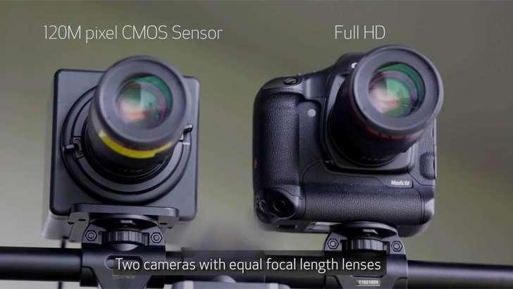Canon 120 млн пикселли камера имкониятларини намойиш қилди