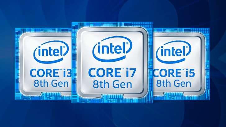 Intel ноутбуклар учун илк 6 ядроли 8-авлод чипларини тақдим қилди