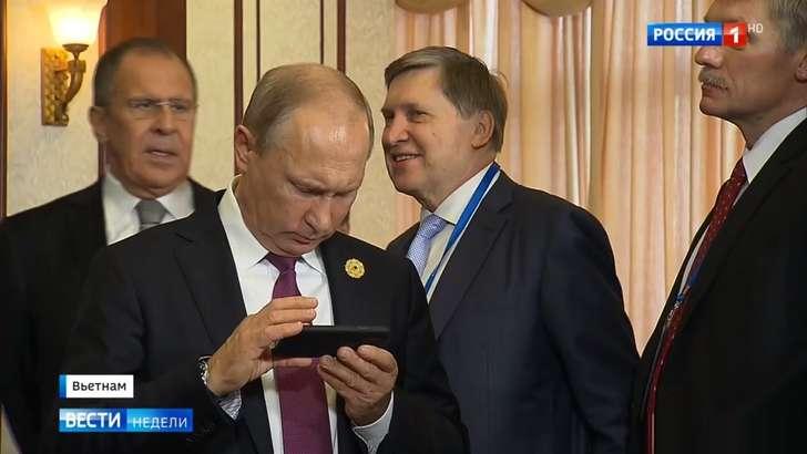 Фото: Владимир Путин энг қиммат флагман билан