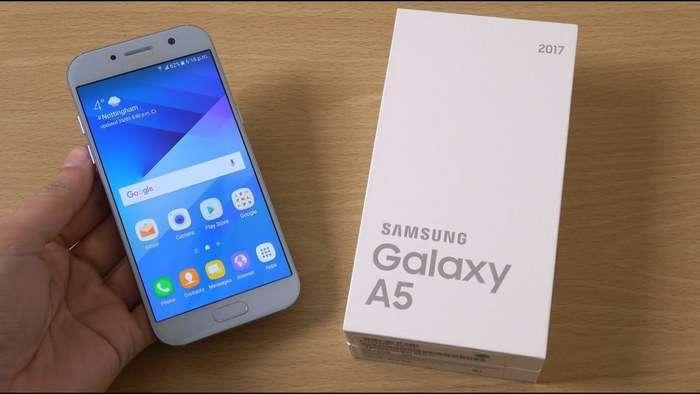 Samsung смартфонларининг «Малика»даги нархлари (2017 йил 5 сентябрь)
