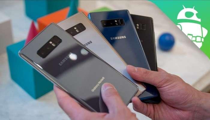 Samsung смартфонларининг кредит бўйича сўмдаги нархлари (2018 йил 12 январь)