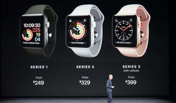 «Малика»да Apple Watch series 3 ва бошқа «ақлли» соатларнинг сўмдаги нархлари (2017 йил 2 октябрь)