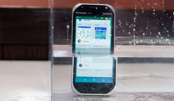 Panasonic'нинг 1500 долларлик смартфони ва планшети сири нимада? (+2та видео)