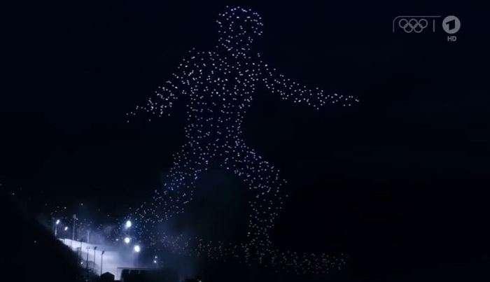 Олимпиада очилишида Intel дронларнинг синхрон парвози бўйича рекорд ўрнатди (+видеолар)