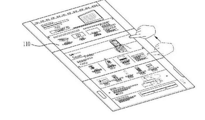 Иккита экран нимаси!? LG учта сенсор экранли буклама смартфон патентлади!